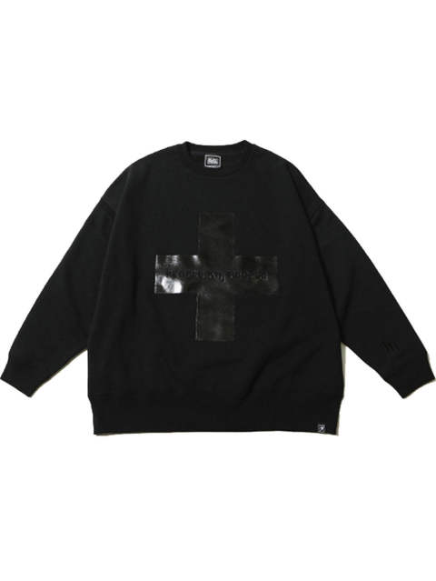 CROSS -Loose Crew Sweat-
