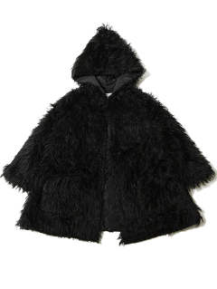 IMITATE -Reversible Fur Gown-