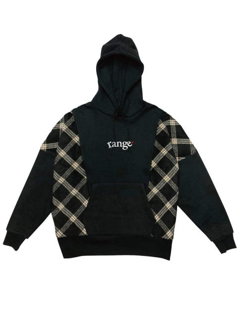 rg over size checker hoody