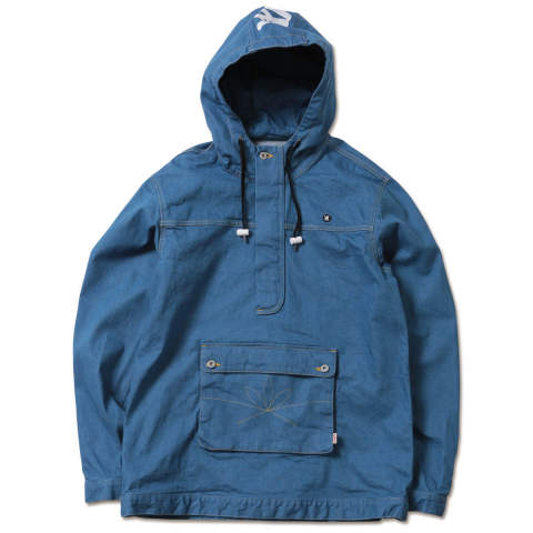 APACHE-Stretch Denim Anorak