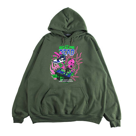THE SCALPE DEAD-HOODIE
