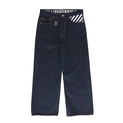 THUNDER GATE WIDE-DENIM