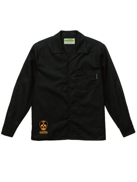 sd T/C open collar L/S shirts