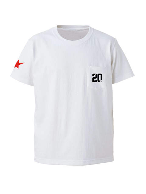 20 on the pocket s/s tee