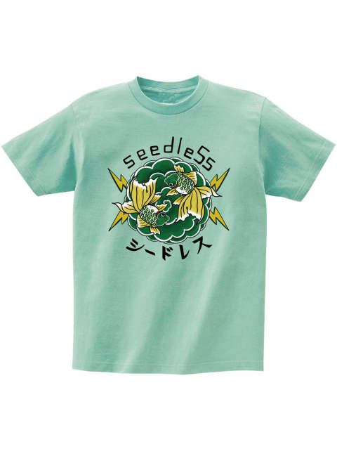 Green goldfish s/s tee