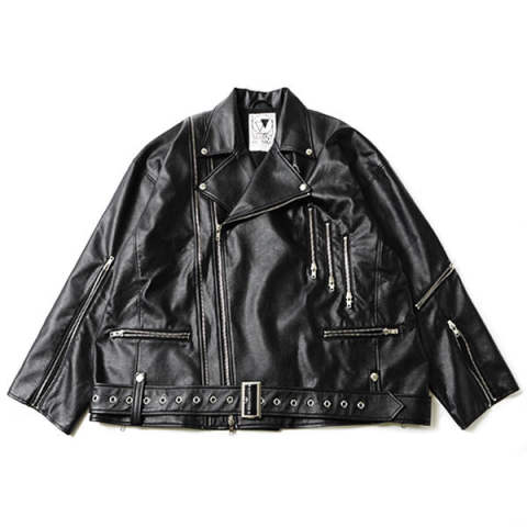 ECLIPSE -Oversized Riders Jacket-