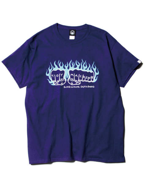 FIST FLAME LOGO SS-T